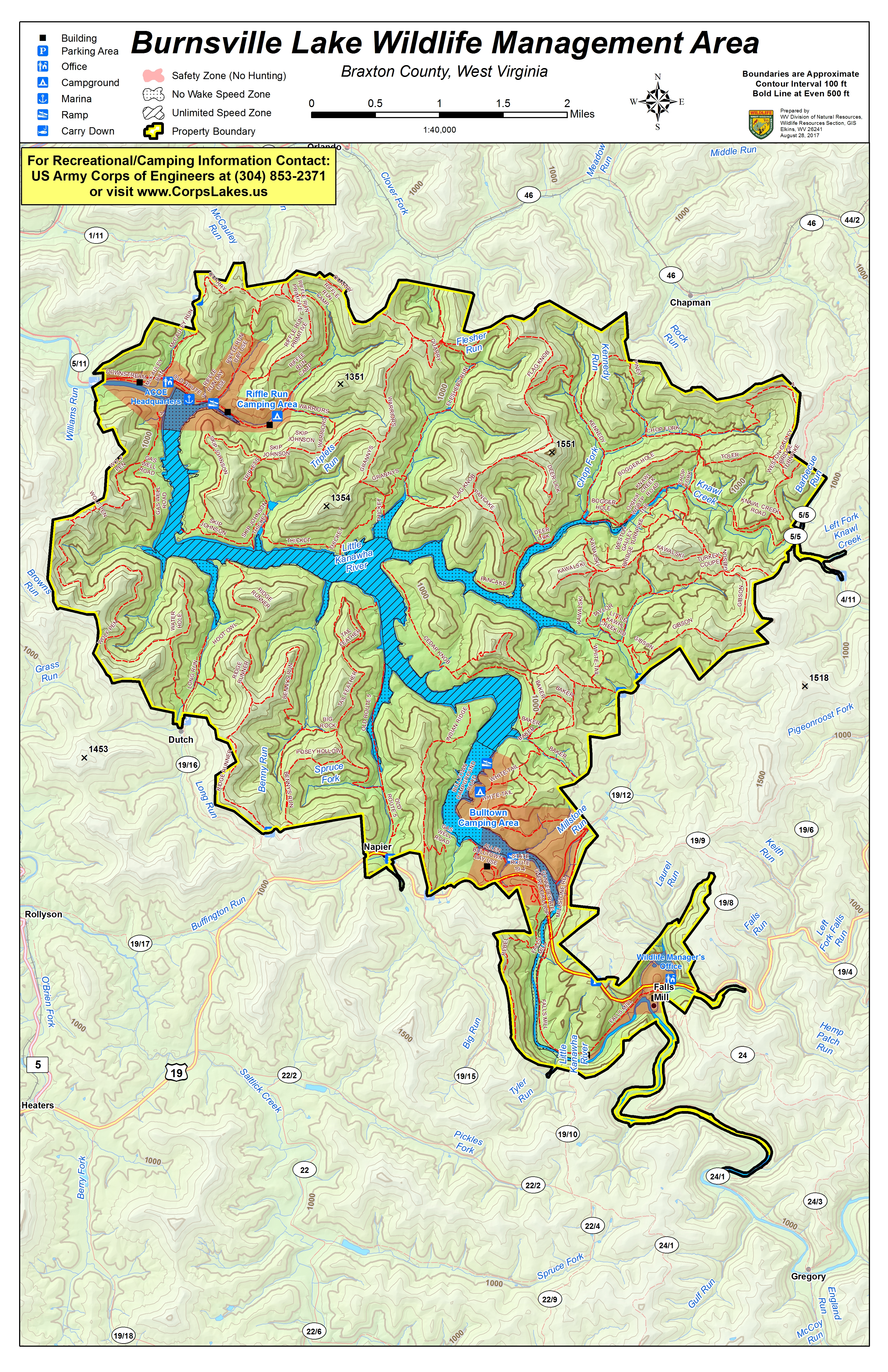 West Virginia DNR WMA Map Project - Dnr topo maps